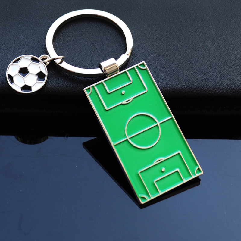 Football Soccer Fans Gift Decoration Soccer Keyring Holder Sports Souvenir Gift Ornament Key Ring Soccer Ball Fan Club Gift