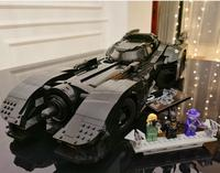 Presell 76139 Batman Super Hero 1989 Batmobile Model 3856Pcs Building Kits Blocks Bricks Toys Children Gift Compatible 59005