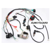цена на CDI Wire Harness Stator Assembly Wiring for ATV Electric Quad 50CC 70CC 90CC 110CC 125CC