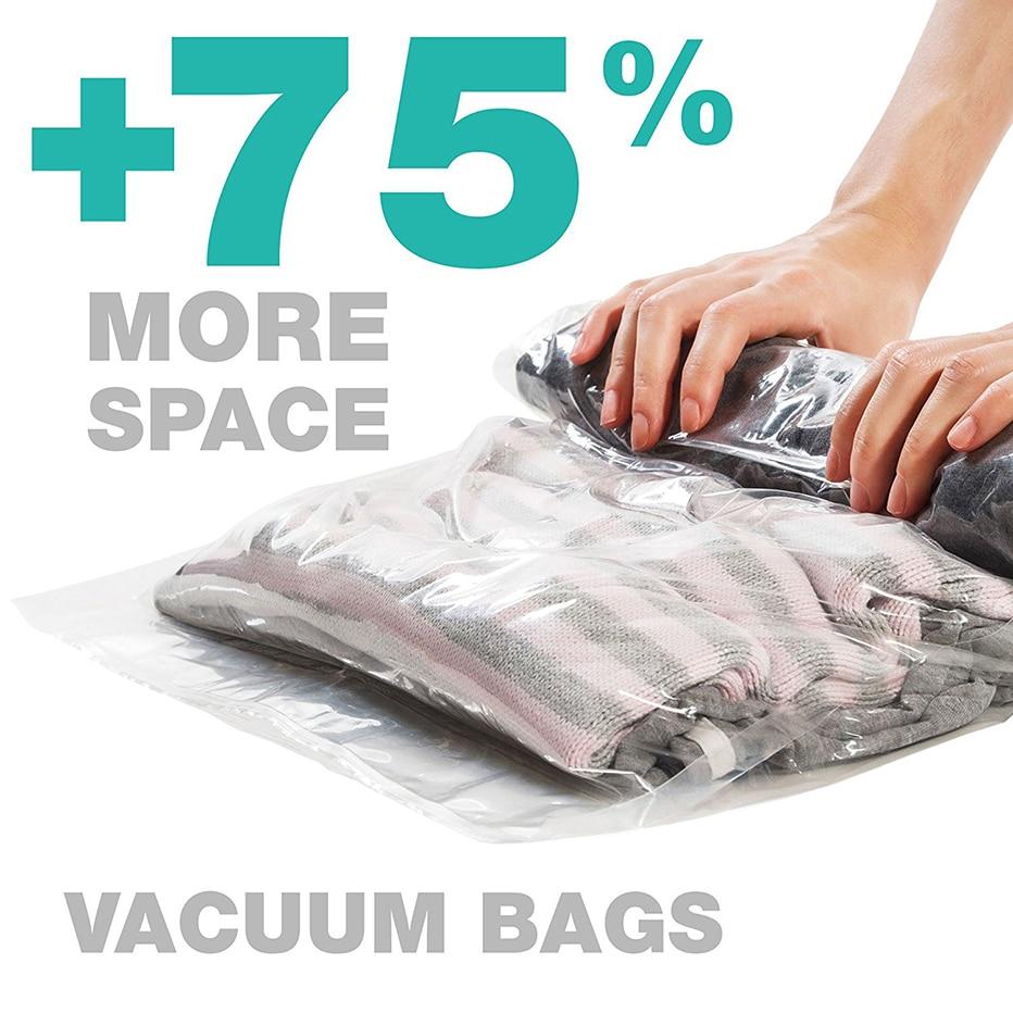 Vacuum bag storage household Storage quilt clothes finishing Dust vacuum