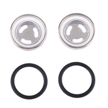 4 шт. Универсальные стеклянные глазок для контроля уровня масла с уплотнительными кольцами для переднего или заднего тормозного цилиндра 1818 мм