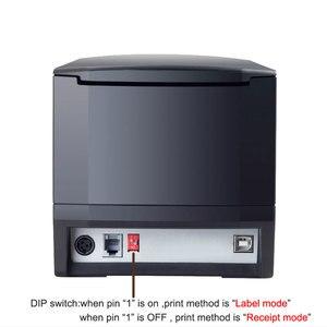 """Image 4 - 127 מ""""מ\שנייה USB יציאת 20mm 80mm ברקוד תווית מדפסת מדבקת מדפסת תרמית ברקוד מדפסת 58mm או 80mm תרמי קבלת מדפסת"""