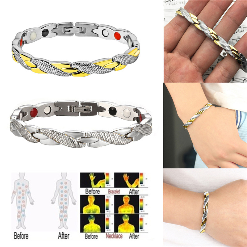 Magnetic Slimming Bracelet Fashionable Jewelry For Man Woman Link Chain Weight Loss Bracelet Health Slimming Weight Loss Product 1