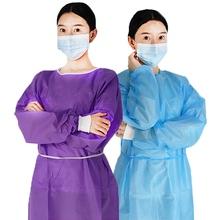 Jednorazowy mundurek roboczy garnitur damski odzież do pracy Unisex odzież odporna na kurz jednolita kombinezon warsztatowy tanie tanio CN (pochodzenie) FB0087