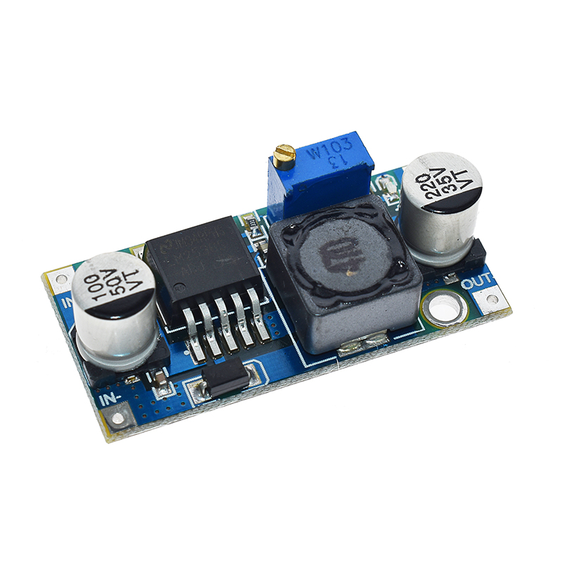 LM2596S-ADJ Adjustable Buck Regulator Power Module DC-DC 3A 12 24V To 12/5 3.3V