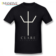 Claymore T Shirt Clare 2 Phone Case More T-Shirt Men Short Sleeve Tee 5x Cute Cotton Casual Tshirt