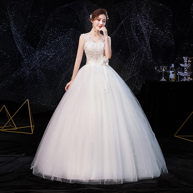 2019 Sale Cocktail Dress Han Edition Bride Vogue Of New Fund Of 2020 Word Shoulder Neat, Thin Skirt H46 Big Yards