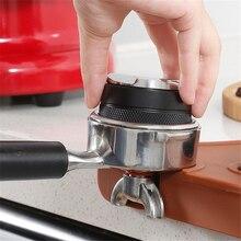 Adjustable Powder-Press Coffee-Distributor Double-Side Flat 2-In-1 53/58mm