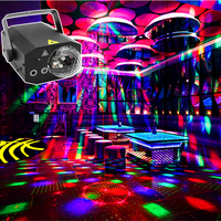 RGB Sound Party Disco Lights led Magic Ball for Home Karaoke Bar Stage Equipment soundlights 16Pattern Laser Show Club Projector