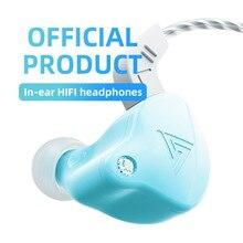 QKZ AK6 X באוזן Hifi אוזניות אוזניות סאב ספורט עם מיקרופון אוזניות 3.5mm Plug מוסיקה אוזניות AK6 שדרוג גרסה