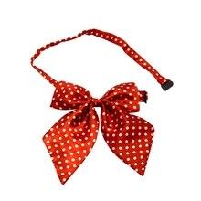 Модная детская униформа в полоску с галстуком-бабочкой для девочек, одежда с бабочкой, аксессуары для От 0 до 15 лет, школьное платье для выступлений, галстук-бабочка