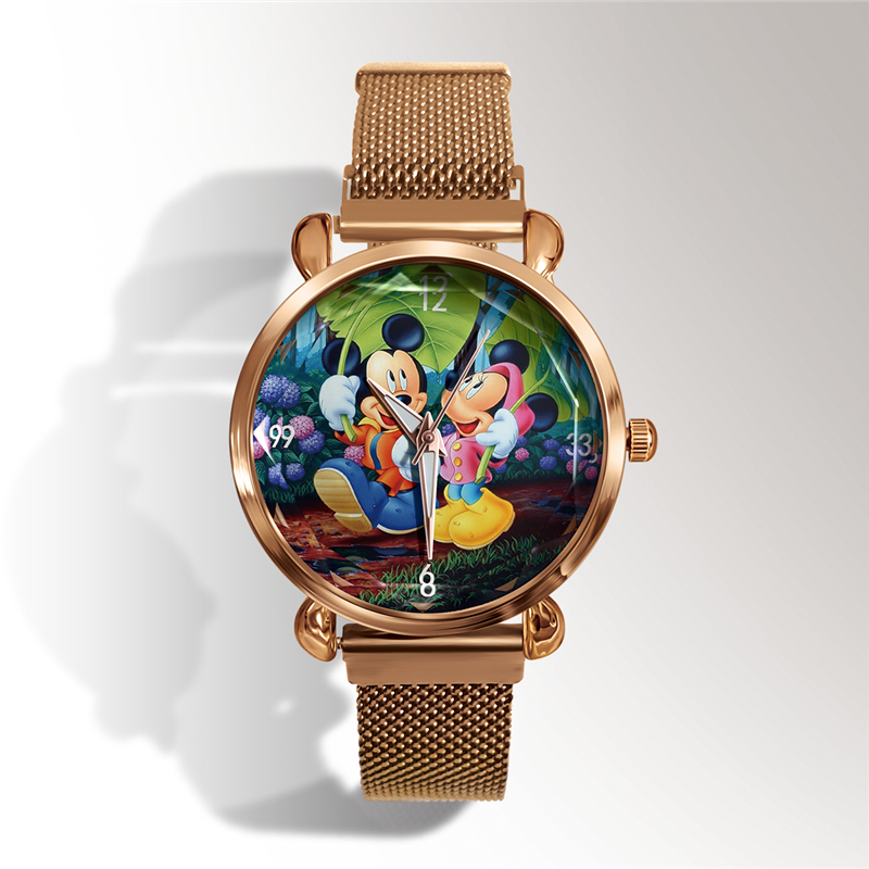 Reloj Mujer Top Brand Luxury Zegarek Damski Mickey Minnie Women Watches Orologio Donna Ladies Watch Women Watch Relogio Feminino