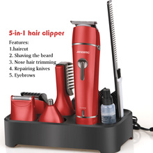 hair clippers electric Trimmer 5-in-1 set including haircut body knife razor nose trimmer eyebrow tondeuse moser SU60