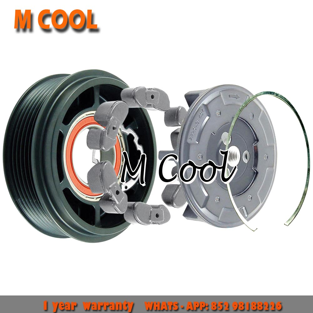 7seu17c ac compressor clutch For Mercedes C240 320 W203 2003 AC Compressor Pulley A0012305811 110D7E7605
