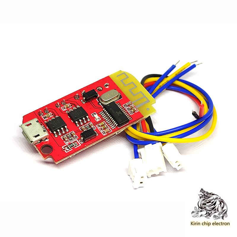 2PCS/LOT Micro 4.2 Stereo Bluetooth Amplifier Audio Module 5W-5W With Charged DIY Modified Speaker F Class