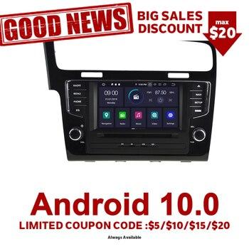 Navegador Gps Navirider, reproductor de Radio para coche Android 9,0 para Golf 7 Golf 2013-2015 Aux Bluetooth estéreo, accesorios para coche