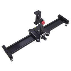 40cm Camera Slider Track Mini Dolly Slider Rail System Video Shot Follow Track Stabilizer Focus Shot For Canon Pentax
