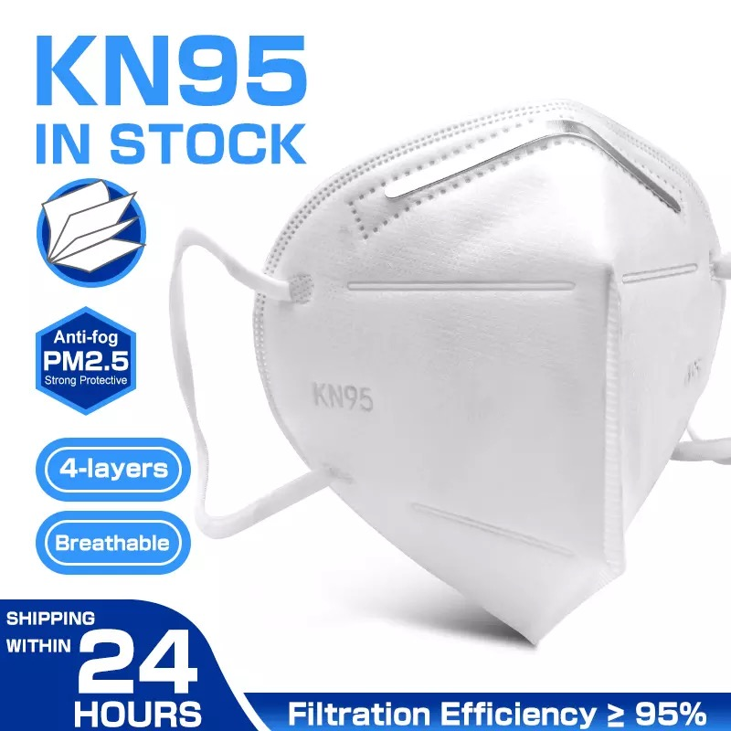 Fast Delivery KN95 Dustproof Anti-fog And Breathable Face Masks Filtration Mouth Masks 5-Layer Mouth Muffle Cover mask