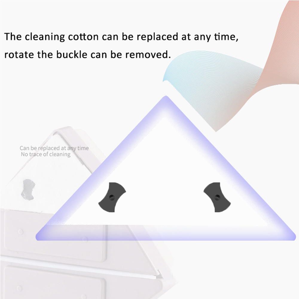 Image 5 - Anpro Magnetic Window Wiper Glass Cleaner Brush Tool Double Side Magnetic Brush for Cleaning Washing Windows Glass-in Cleaning Brushes from Home & Garden