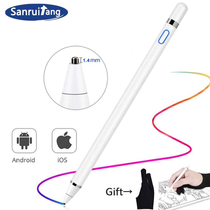 For Apple IPad Pro 11 12.9 10.5 9.7 2018 2017 Active Stylus Touch Pen Smart Pencil For IPad Mini 5 4 Air 1 2 3 Tablet Samsung