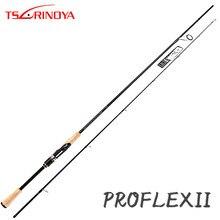 цена на TSURINOYA PROFLEX II 2.03m 2.12m Spinning Fishing Rod 2 Sections M/ML Fast Action Lure Rod with FUJI Guide Ring and Reel Seat