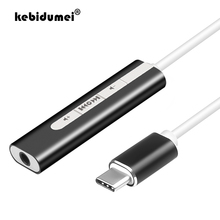 Headphone-Adapter Audio-Interface Sound-Card Microphone Laptop External USB for PC 2-In-1
