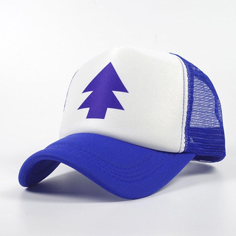 Baseball Cap Men Women Cartoon Dipper Adjustable Cotton Baseball Hat Pine Tree Sun Caps Visors for Adult Kids