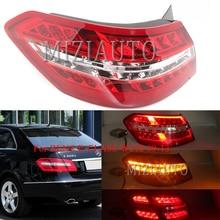 цена на For BENZ E-CLASS W212 09-13 Sedan LED red Rear Tail light taillights assembly Rear Brake Light Fog lamp Bumper Light