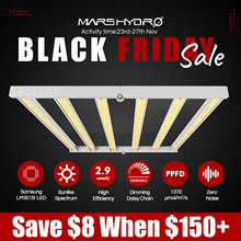 New Arrival! Mars Hydro FC 4800 Samsung LM301B Full Spectrum LED Grow Lights Strip Grow