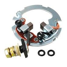 Motorcycle Starter Repair Kit Brush Plate Rebuild Kit For HONDA CBR600F Nighthawk 250 TRX250 TRX300 CBR600F3 XR650L NX650