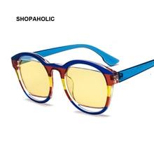 New Arrival Oval Sunglasses Women Men Coating Retro Brand Designer Sun Glasses F