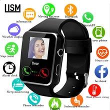 X6 Smart Watch Waterproof Bluetooth Support SIM Card Camera
