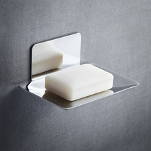 Rack Soap-Holder Stainless-Steel Storage-Plate Bathroom-Accessories Draining Wall-Mounted
