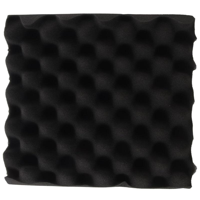 25X25X5CM Sound Insulation Foam Egg Crate Studio Acoustic Foam Sound Insulation Treatment Egg Profile Wedge