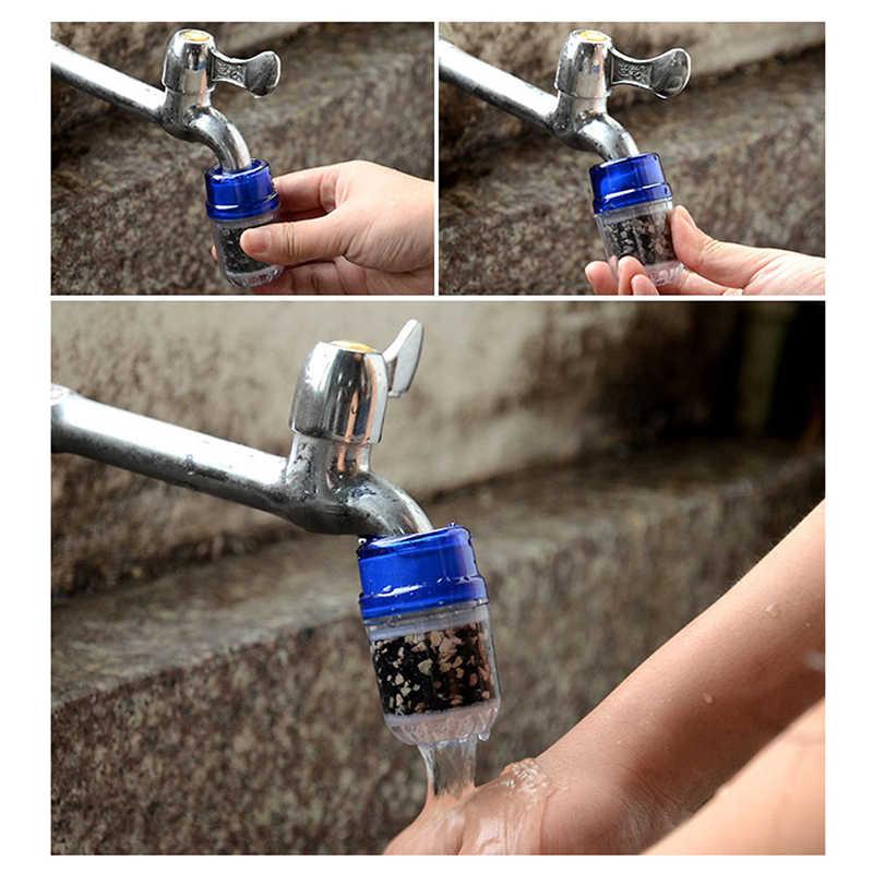 מטבח ברז מים מסנן בריא הופעל פחמן מים מטהר כבד מתכת חלודה משקעי מושעה ברז מטהר