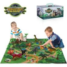 Dinosaur Toy Jurassic Park Animals Jungle Set Minifigure Dinosaur Excavation Children's Educational Toys for Boys Kids Gift