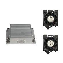 Оригинальный радиатор сервера 1 шт и вентилятор охлаждения 2