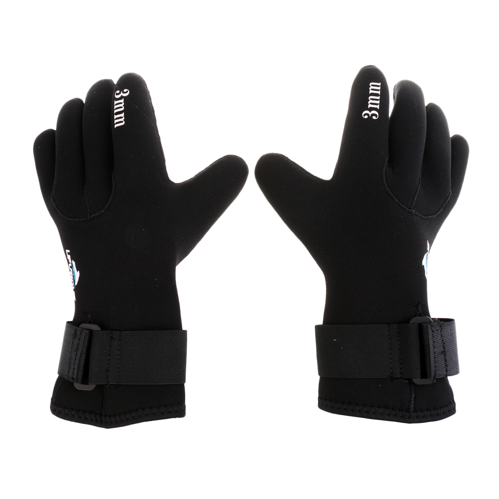 Premium Neoprene Diving Sailing Kayaking Warm Thermal Gloves, 3mm For Men, Women And Kids