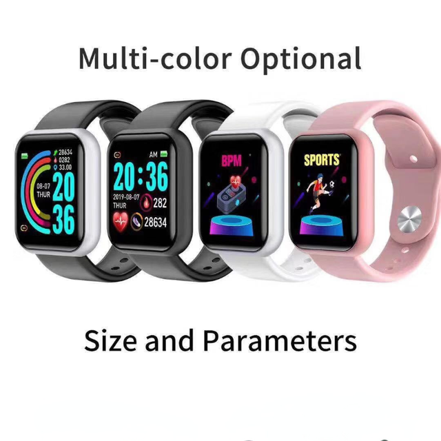 FEOOE Smart Electronics Wearable Devices Wristbands Smart Bracelet Heart Rate Blood Pressure Sports Bluetooth Watch Gift New Yxm 6