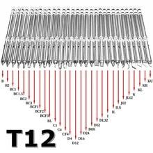 Embouts de fer à souder série T12 pour HAKKO T12 poignée LED interrupteur de vibration régulateur de température FX951 FX 952