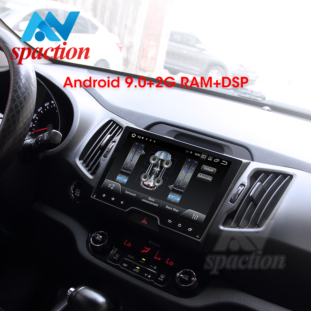 Anspaction Android 9.0 <font><b>car</b></font> dvd for <font><b>KIA</b></font> <font><b>sportage</b></font> 3 4 SL 2011 2012 2013 2014 2015 with <font><b>car</b></font> radio stereo multimedia navigation image