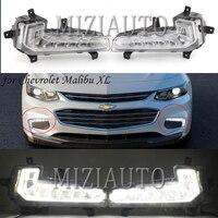 fog lights for Chevrolet Malibu XL 2016 2017 2018 Front Bumper Fog Light Foglamp DRL Running Lamp headlight Foglight taillight
