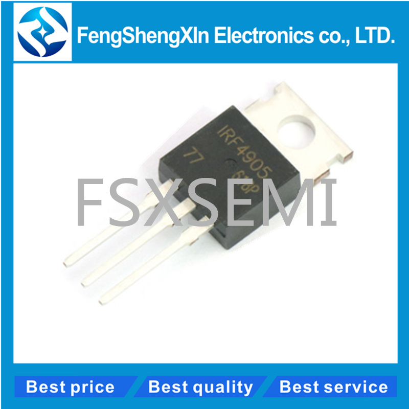 2 PC irf4905 irf4905pbf P-Channel 55v 74a 200w 0,02r to220 NEW