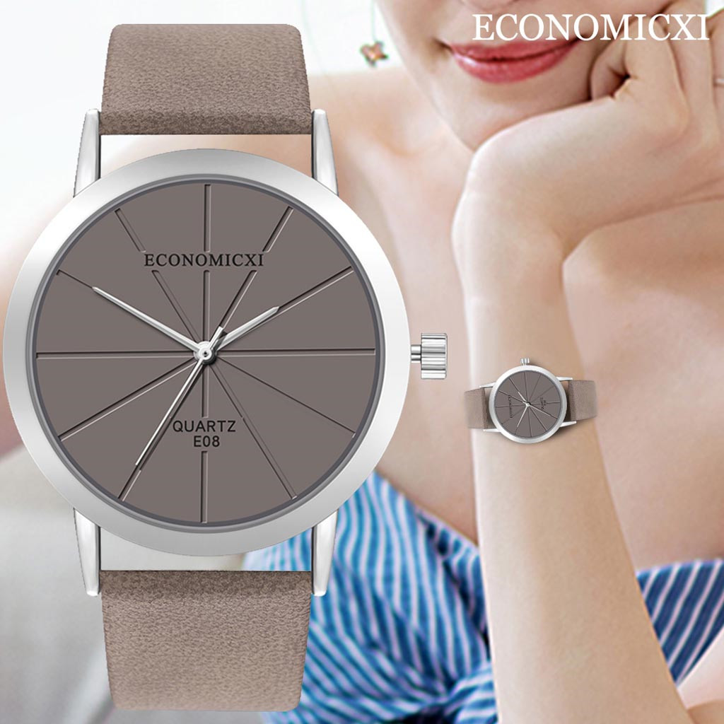 New Fashion Hot Sale Female Quartz Wrist Watch Montre Femme Leather Belt Women Watches Smiple Clocks Casual Analog Relogio Saat