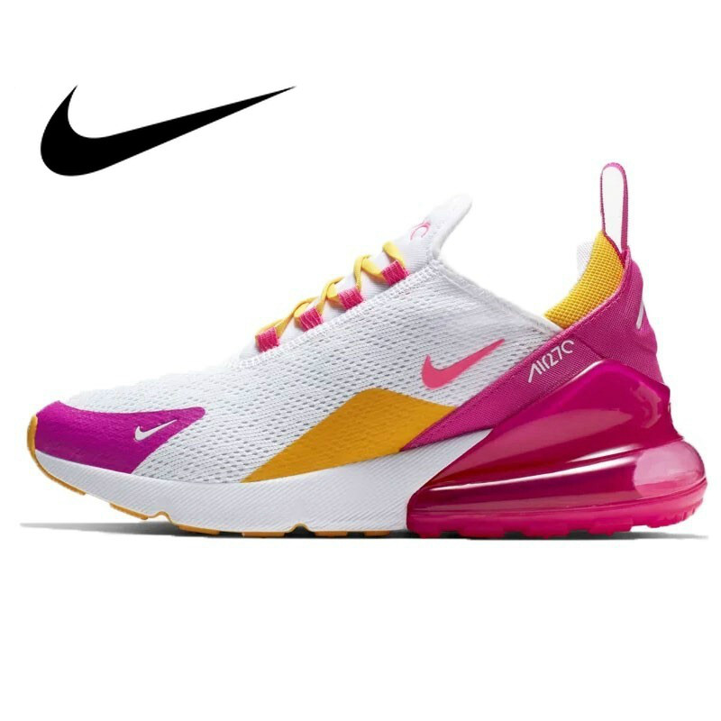 Original Authentic NIKE Air Max 270 Women's Running Shoes Outdoor Breathable Sports Shoes Comfortable Wearable CI1963-166