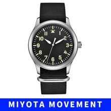 Corgeut miyota 42mm Men's Watch Automatic Mechanical Watch S
