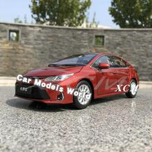 Diecast รุ่นรถสำหรับ Corolla ใหม่ 2019 + ของขวัญขนาดเล็ก!!!!