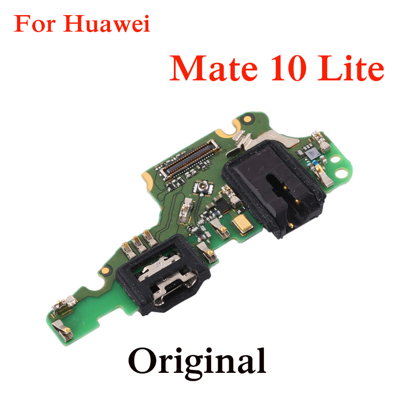 Original USB Board  For Huawei Mate 10 Lite Micro USB Port Dock Charger Connector Charging Flex Cable Board With IC Connector