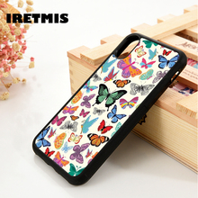 Iretmis 5 5S SE 6 6S TPU Silicone Rubber phone case cover for