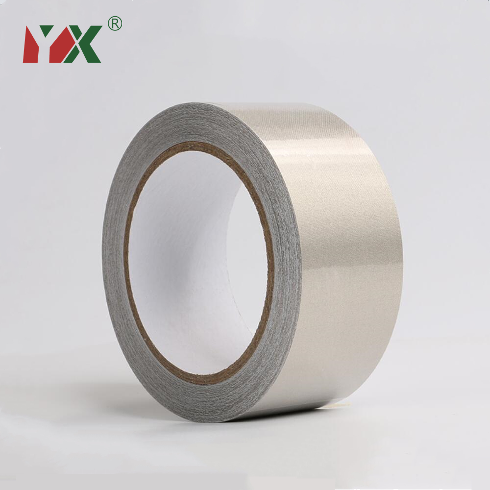 10mm Silver Double Sided Conductive adhesive Cloth Fabric Tape Phone EMI Shield